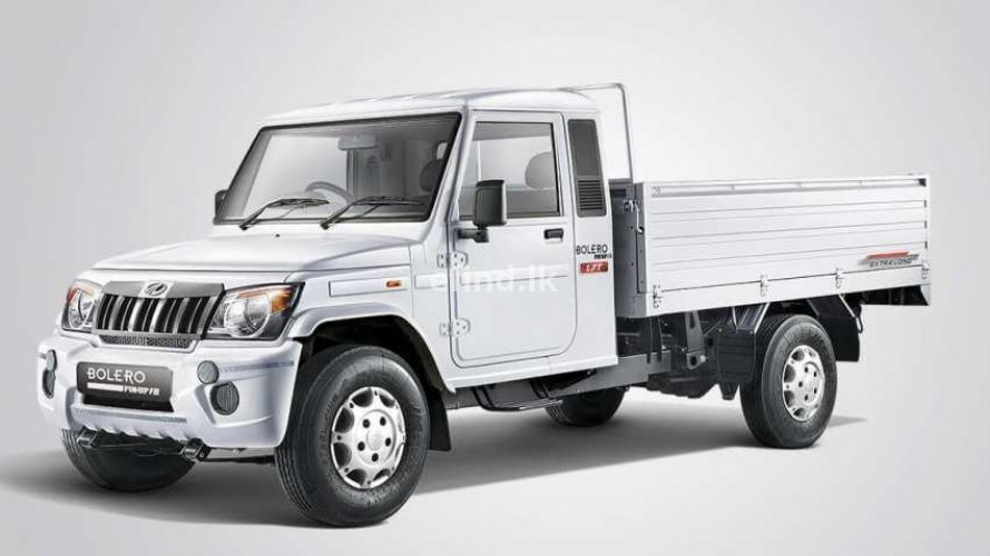 Mahindra Big Bolero Pick Up 2WD (1.5 Ton) - Brand New