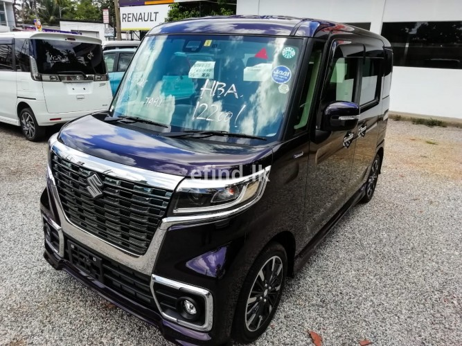 Suzuki Spacia Custom XS Safety Package 2018