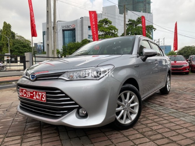 Toyota Axio Hybrid New Face Safety 2016